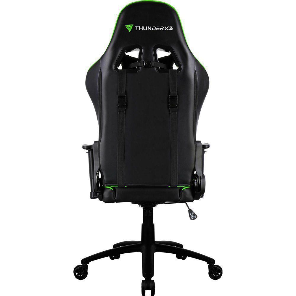 Cadeira Gamer ThunderX3 - TGC12 Preta/Verde