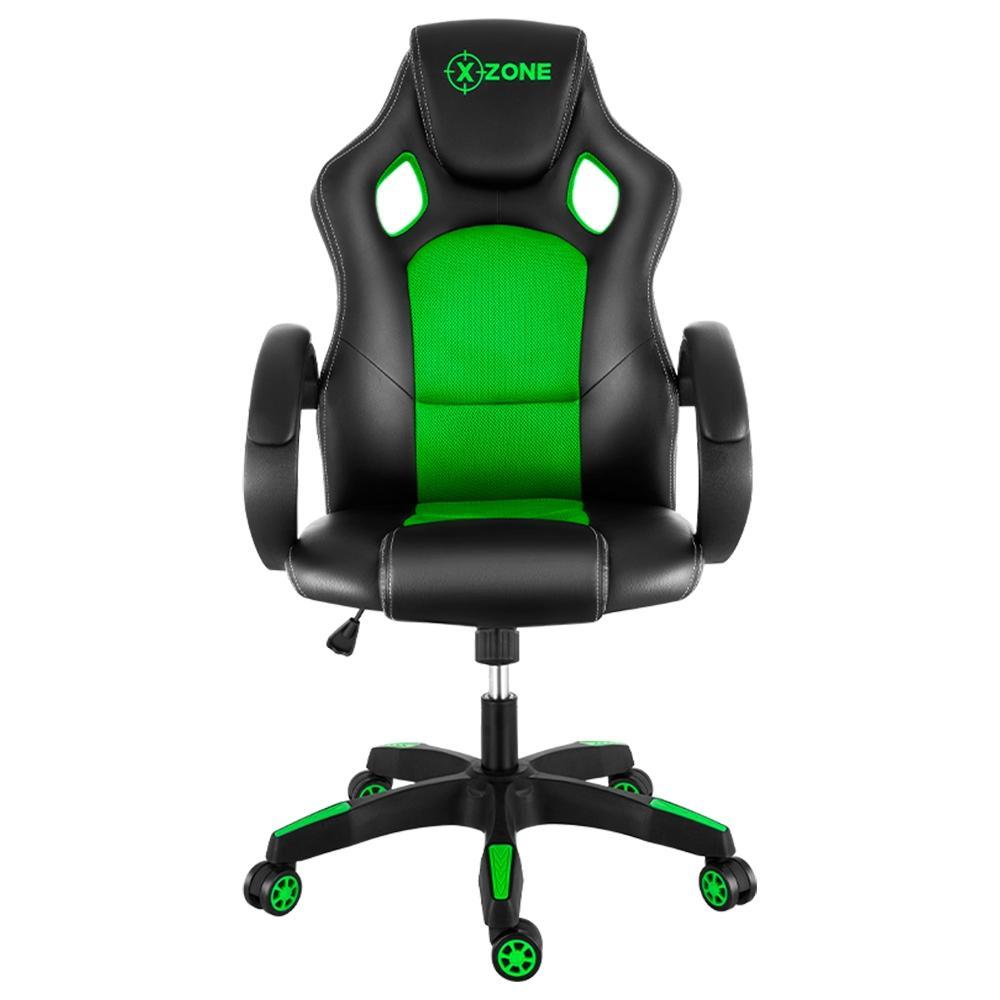 Cadeira Gamer XZone Preta/Verde - CGR-02