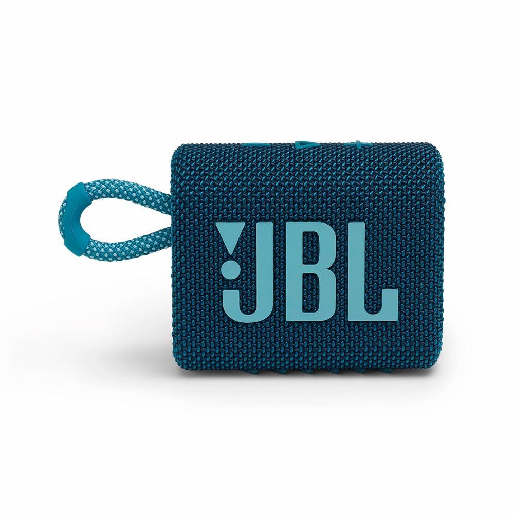 Caixa de Som JBL GO3 - Bluetooth - 4,2W RMS - Azul