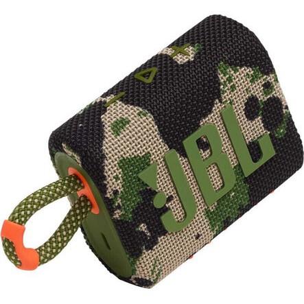 Caixa de Som JBL GO3 - Bluetooth - 4,2W RMS - Camuflada