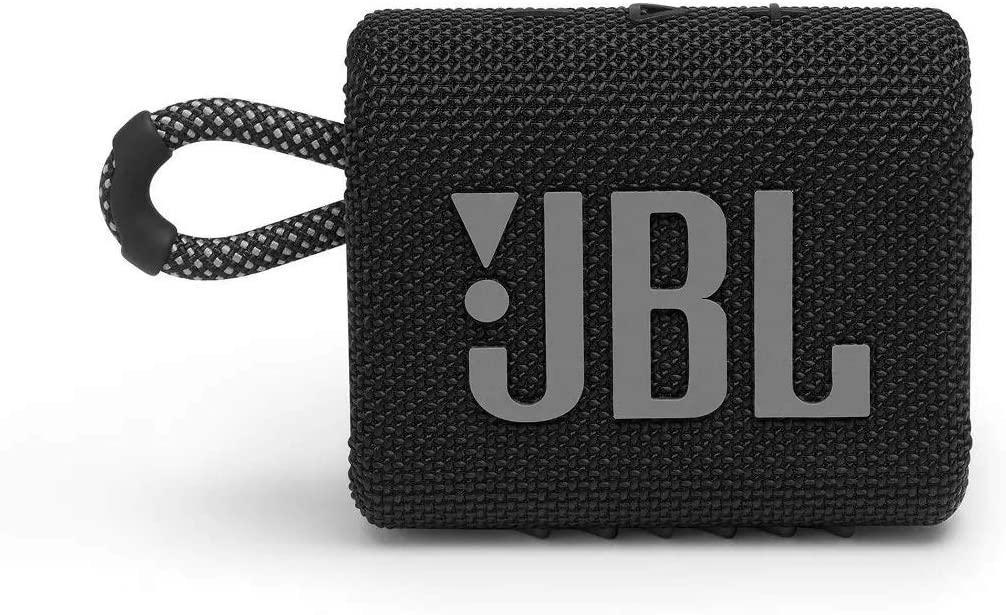 Caixa de Som JBL GO3 - Bluetooth - 4,2W RMS - Preta