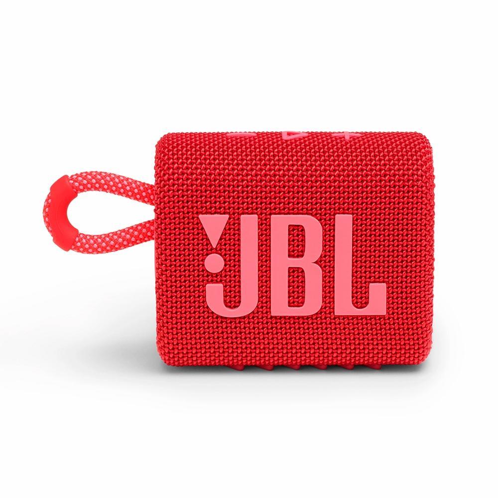 Caixa de Som JBL GO3 - Bluetooth - 4,2W RMS - Vermelho