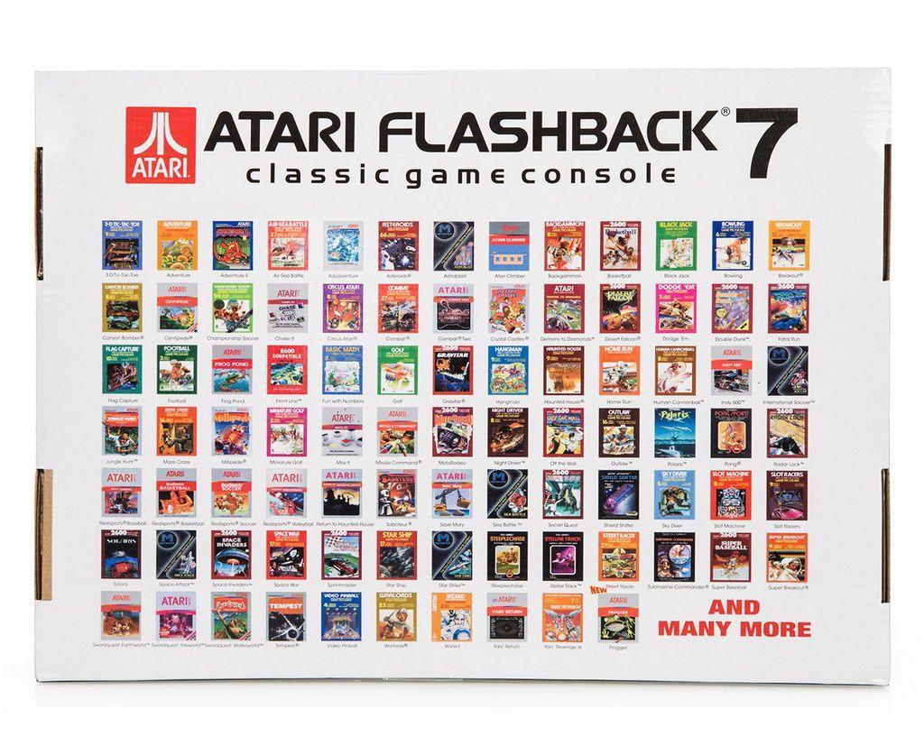 Console Atari Flashback 7 - Classic 101 jogos