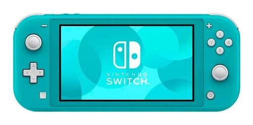 Console Nintendo Switch Lite 32GB Turquesa - Semi Novo