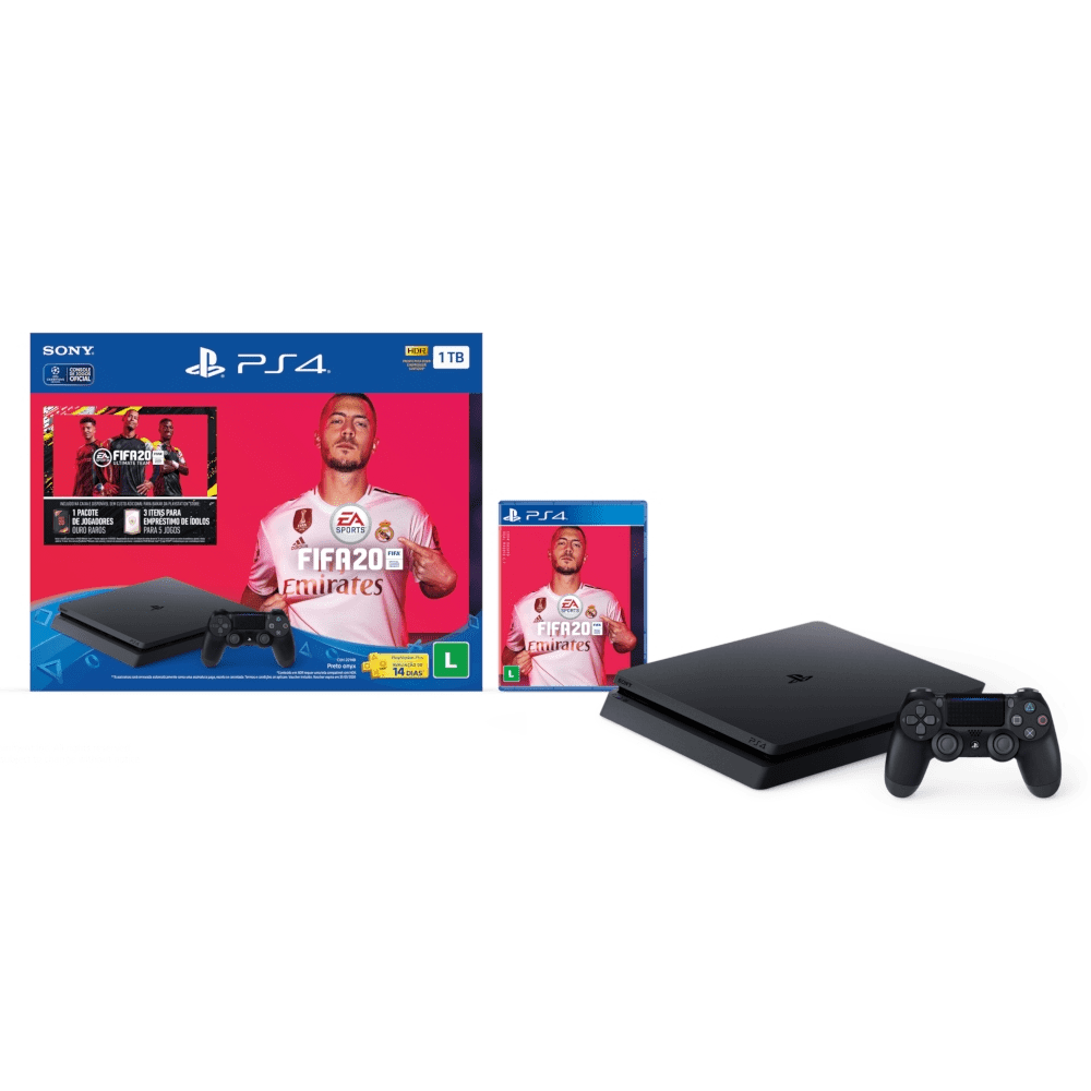 Console Playstation 4 1TB Fifa 20 Bundle