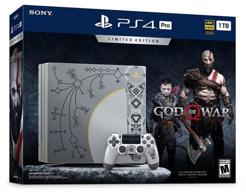 Console Playstation 4 Pro 1TB - God Of War Limited Edition