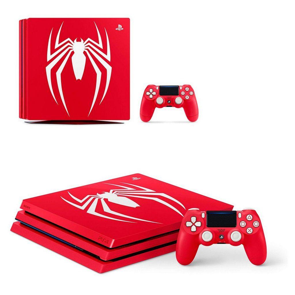 Console Playstation 4 Pro 1TB - Marvel Spider Man Bundle