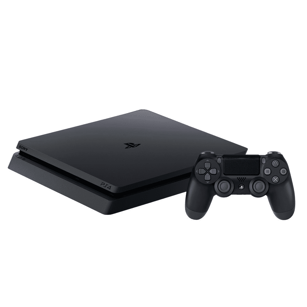 Console Playstation 4 Slim 1TB Bundle 3 jogos (Marvel Spider-Man, Horizon Zero Dawn, Ratchet & Clank)