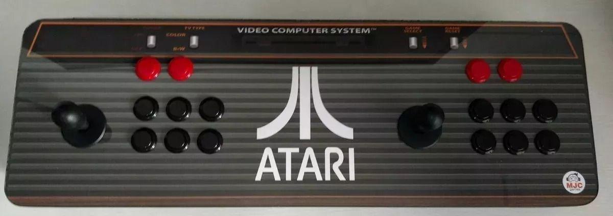Controle Arcade Duplo (Multijogos) com Raspberry Pi 3 - 8500 JOGOS