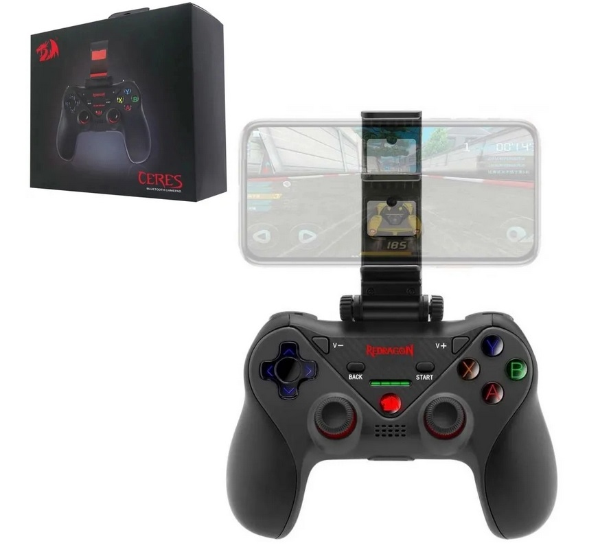 Controle Bluetooth 4.0 Redragon Ceres G812 - PC / iOS / Android