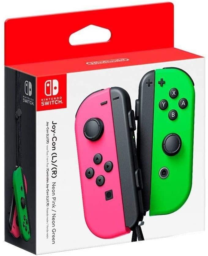 Controle Joy con (L/R) - Verde e Rosa - Nintendo Switch