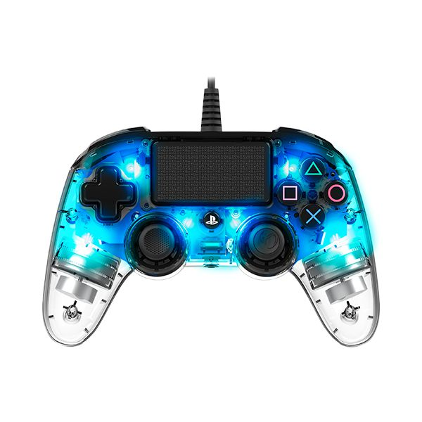 Controle Nacon PS4 Wired Illuminated - Azul