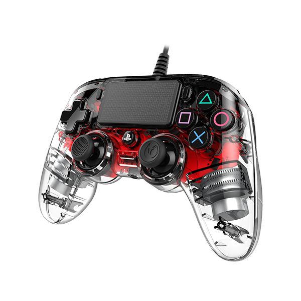 Controle Nacon PS4 Wired Illuminated - Vermellho