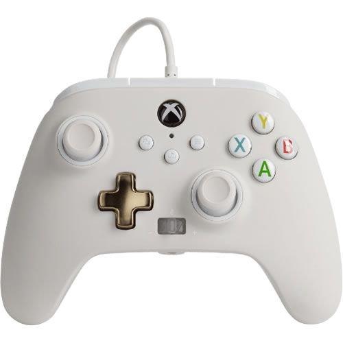 Controle Power A Com fio - Branco - Xbox Series/Xbox One