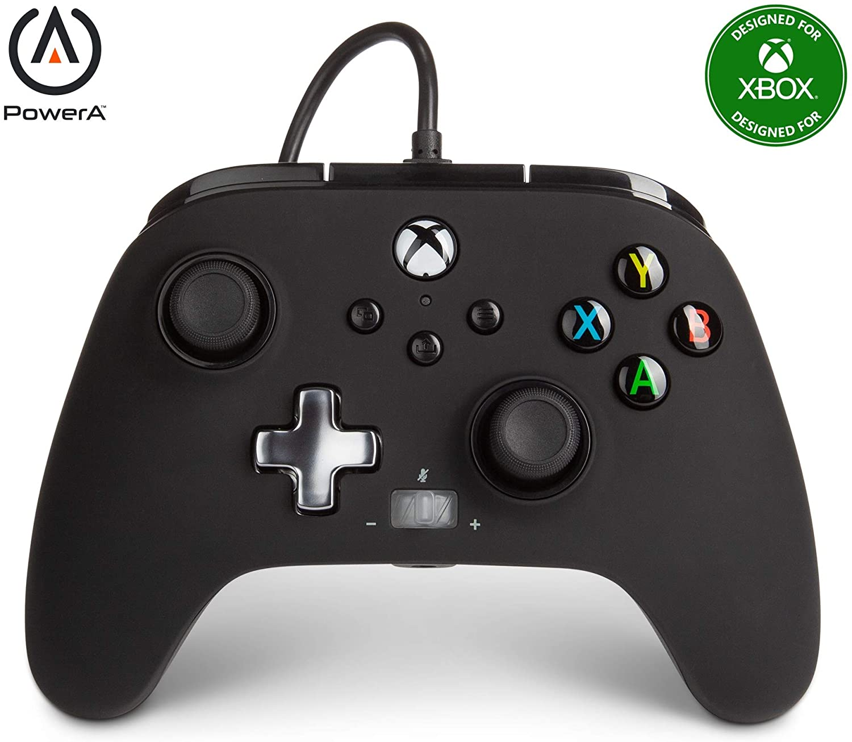 Controle Power A Com fio - Preto - Xbox Series/Xbox One