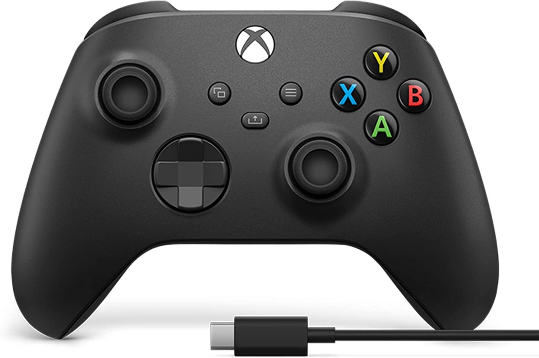 Controle Xbox + Cabo adaptador para PC