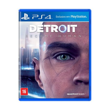 Jogo Detroit Become Human - PS4 - Semi Novo