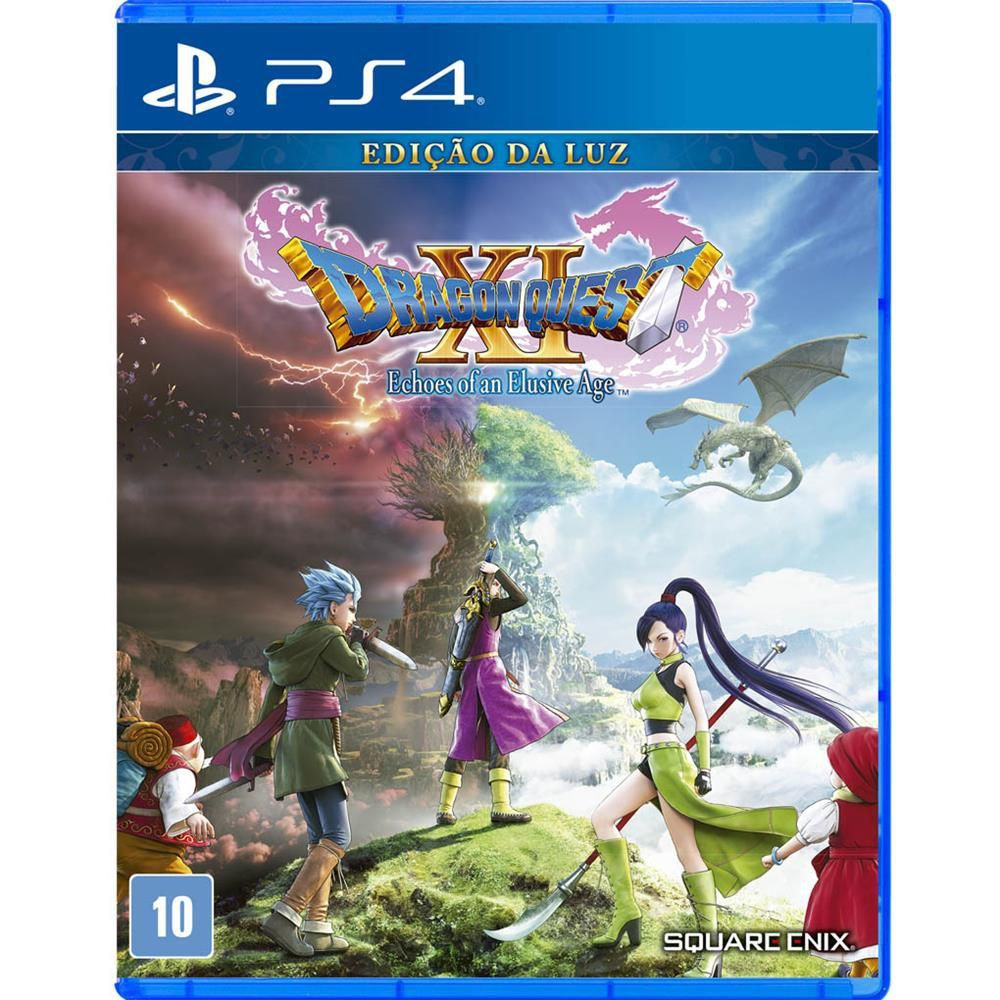 Jogo DRAGON QUEST® XI: Echoes of an Elusive Age - PS4