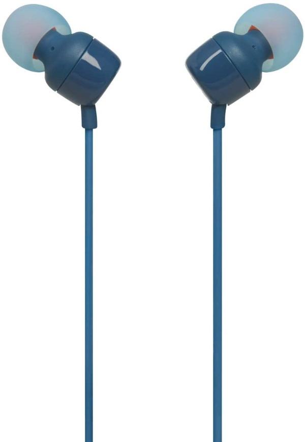 Fone de Ouvido JBL Tune 110 - Azul