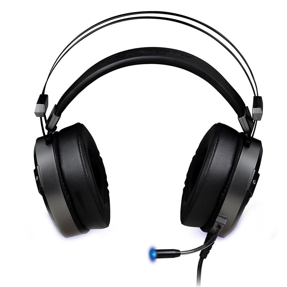 Headset Gamer Fortrek GPro H1 RGB 2x P2 + USB
