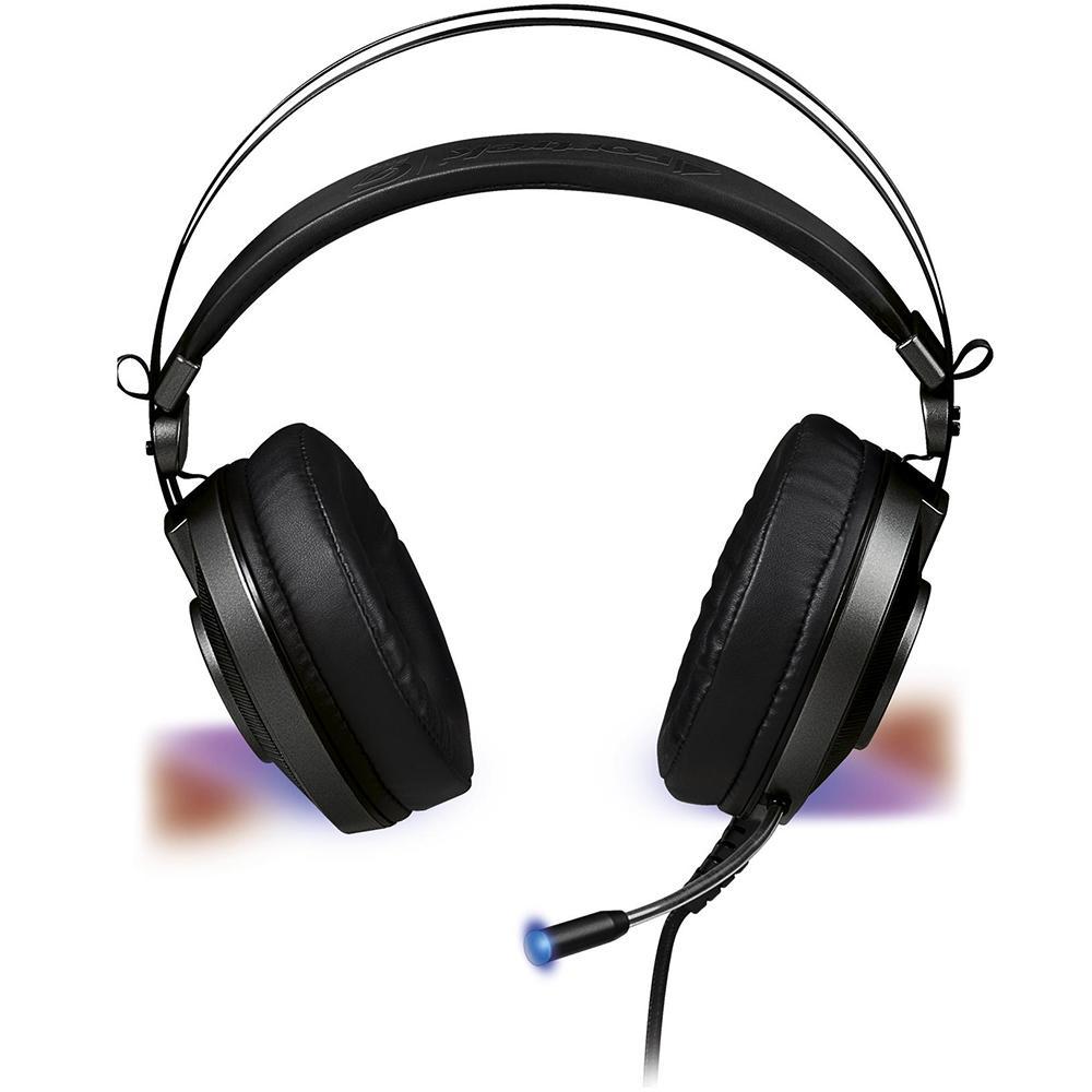 Headset Gamer Fortrek Gpro H3 USB RGB - Cinza
