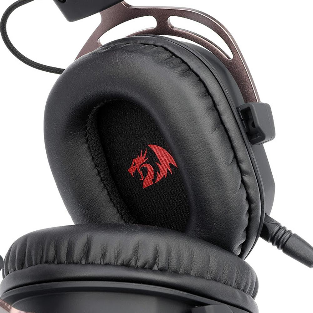 Headset Gamer Redragon Helios, 7.1 Surround Drivres 50mm - H710