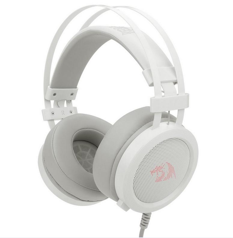 Headset Gamer Redragon Scylla - H901W - Lunar White