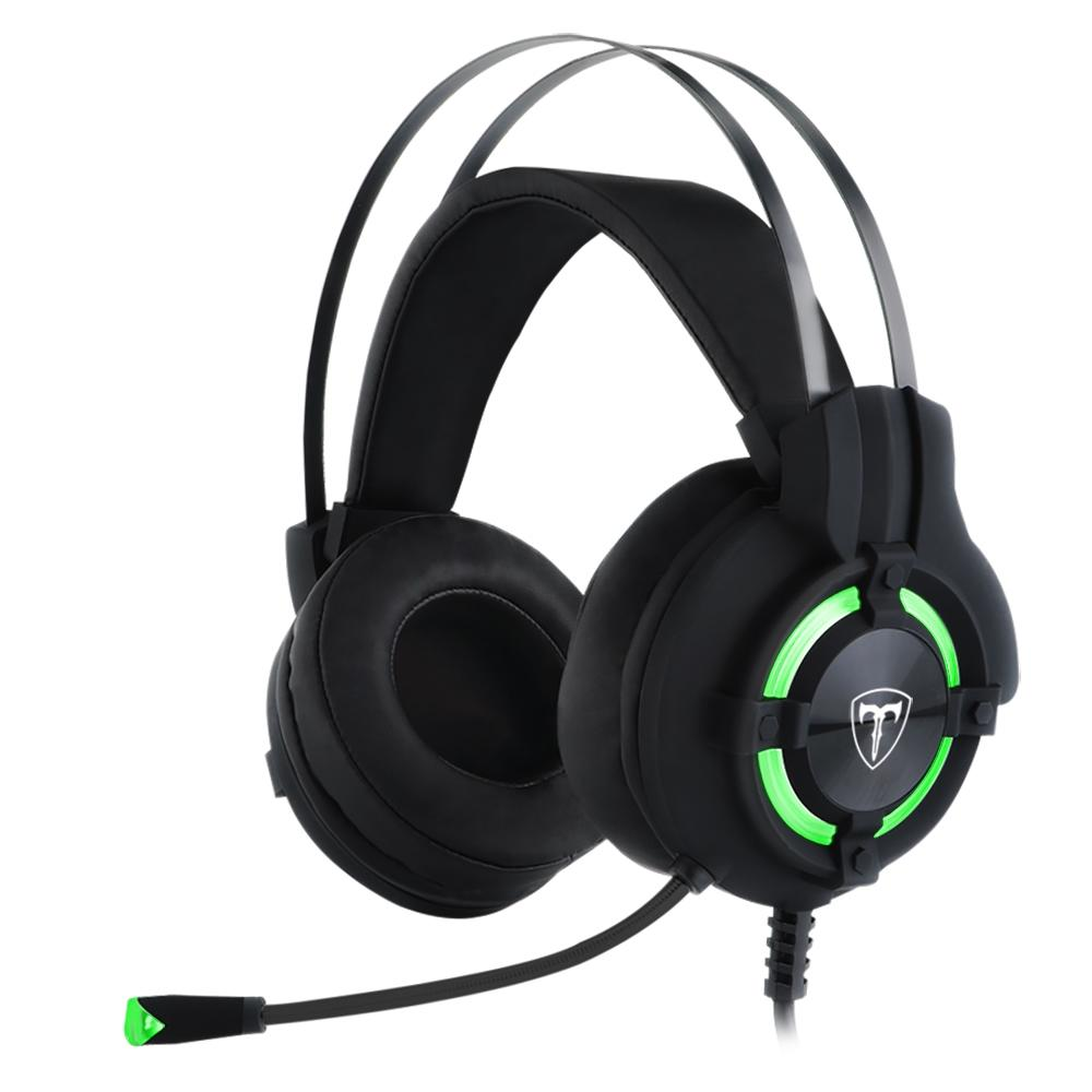 Headset Gamer T-Dagger Andes - Drivers 40mm - Preto e Verde