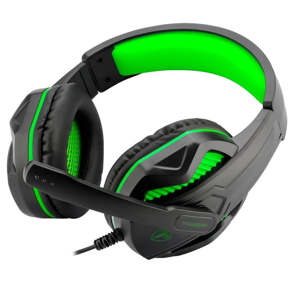 Headset Gamer T-Dagger Cook LED Drivers 40mm