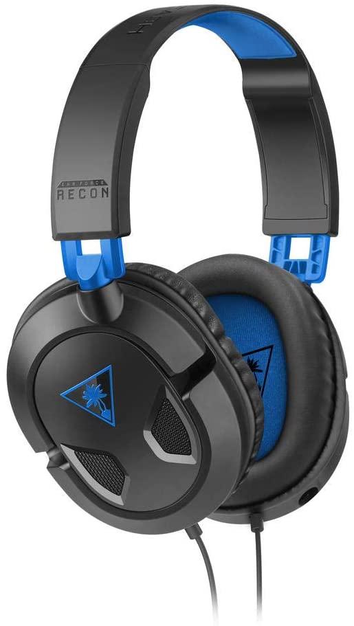 Headset Gamer Turtle Beach Racon 50P - Preto/Azul