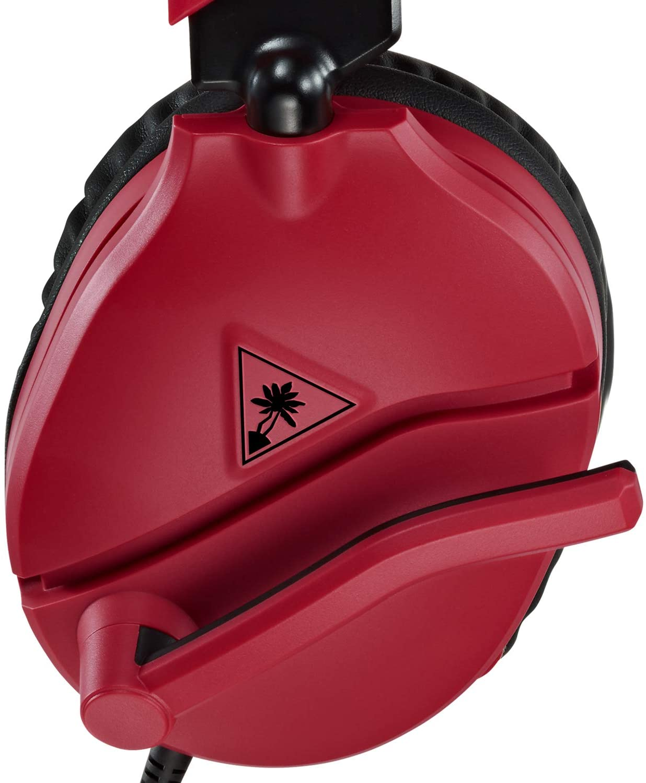 Headset Gamer Turtle Beach Racon 70 - Vermelho/preto