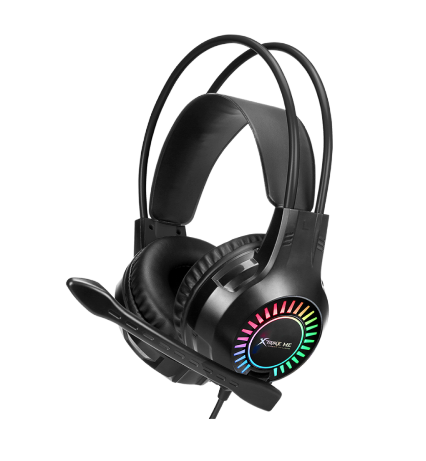Headset Gamer Xtrike Me Backlit RGB GH-709