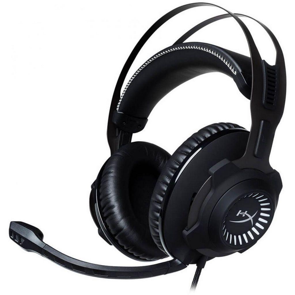 Headset Gamer HyperX Cloud Revolver - Preto/Cinza