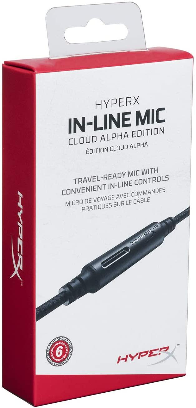 HyperX in-Line Mic Cloud Alpha Edition