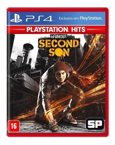 Jogo Infamous Second Son - PS4 - Semi Novo