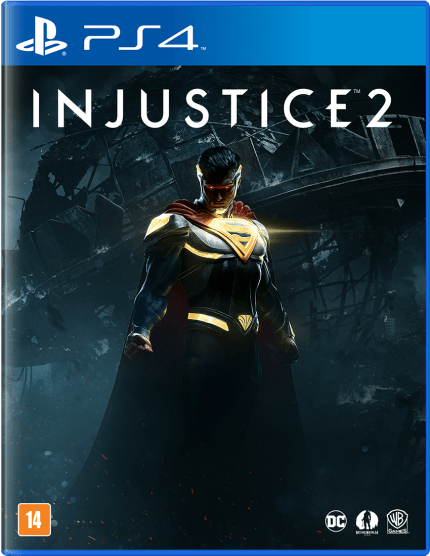 Jogo Injustice 2 - PS4 - Semi Novo
