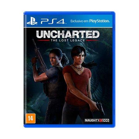 Jogo Uncharted The Lost Legacy - PS4 - Semi Novo