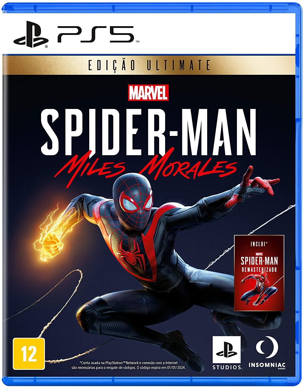 Jogo Marvel Spider-Man: Miles Morales - Edição Ultimate - PS5