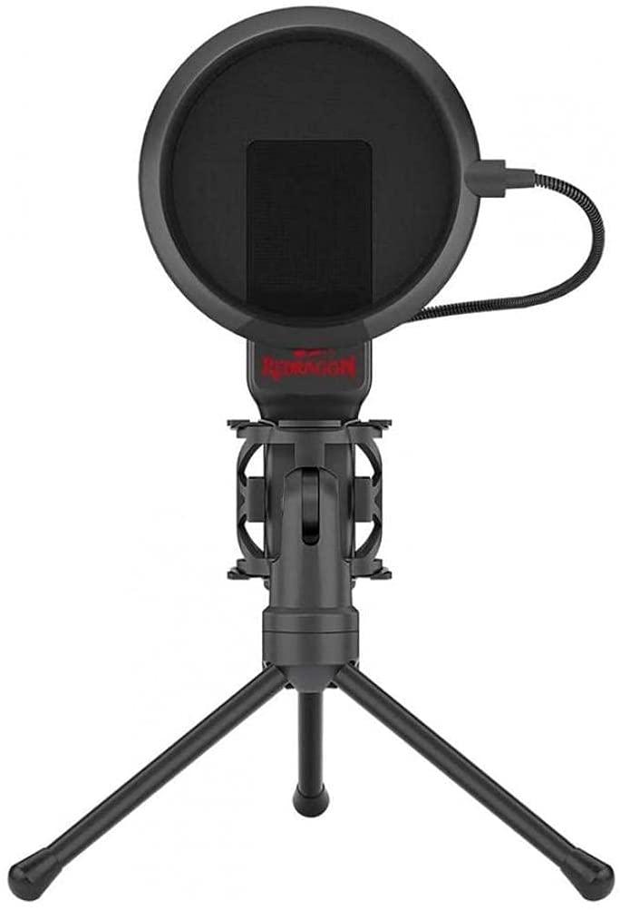 Microfone Gamer Profissional Redragon Seyfert