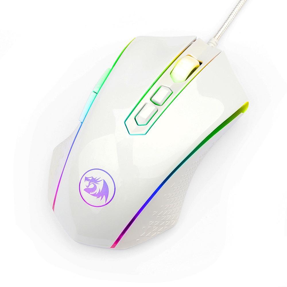 Mouse Gamer Redragon Memeanlion Chroma - RGB 8 Botões - 10000DPI - M710W-RGB