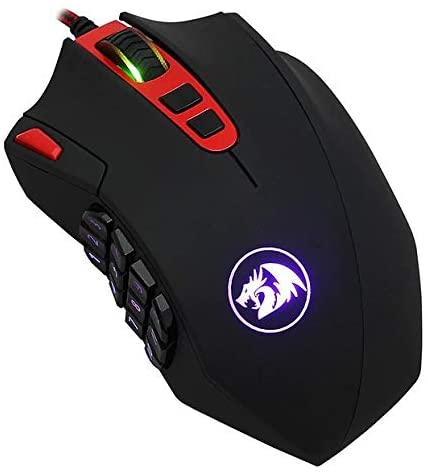 Mouse Gamer Redragon Perdition2 24000 DPI - 18 botões