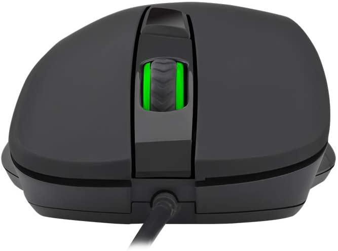 Mouse Gamer T-Dagger Detective 3200DPI - Preto