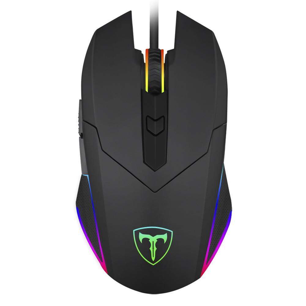 Mouse Gamer T-Dagger Lance Corporal - RGB - 6 Botões - 3200DPI