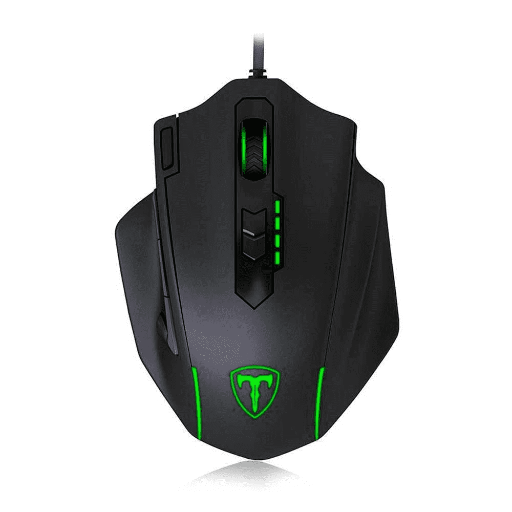 Mouse Gamer T-Dagger Major RGB - 11 Botões - 8000DPI