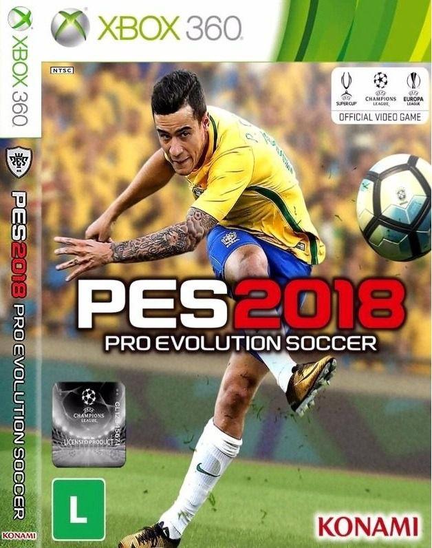 PES 2018 - Xbox 360 - DESBLOQUEADO