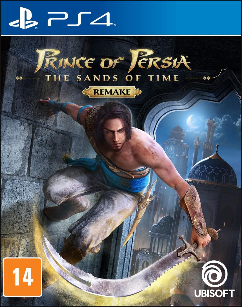 Jogo Prince of Persia - The Sands of Time - Remake - PS4