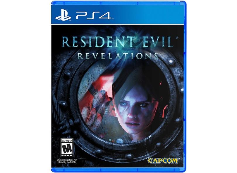 Jogo Resident Evil Revelations - PS4 - Semi Novo
