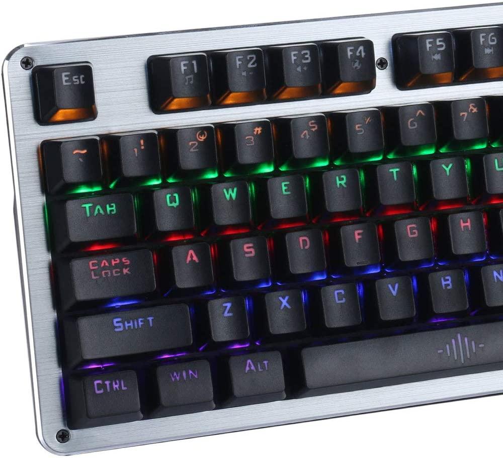 Teclado Gamer Evolut EG-208 Blacksmith - Led RGB