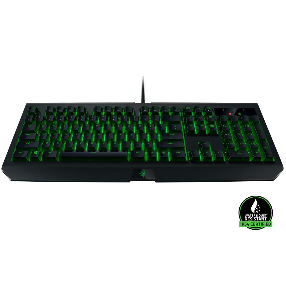 Teclado Gamer Razer Blackwidow Ultimate Green - Razer Switch Green