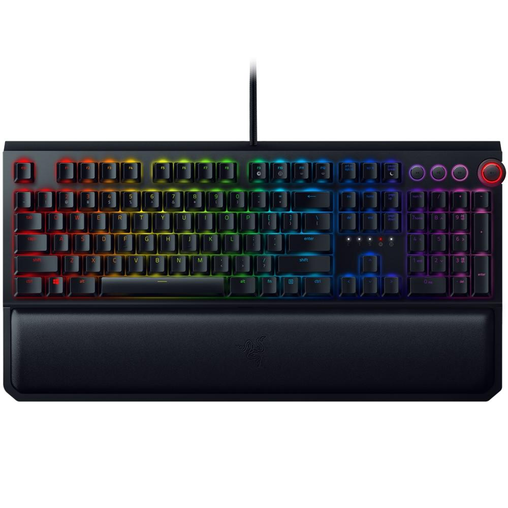 Teclado Gamer Mecânico Razer BlackWidow Elite Chroma - Switch Razer Orange - US
